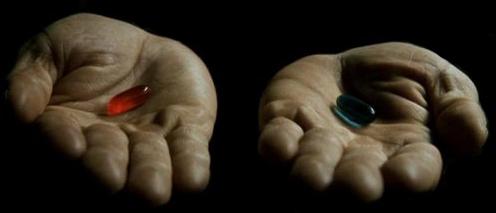 MATRIX – die blaue oder rote Pille?